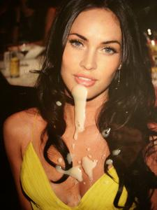 shot cum Megan fox