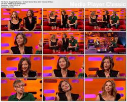 Maggie Gyllenhaal - Interview Graham Norton Show 22nd October 2010 hd