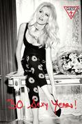 Claudia Schiffer for Guess Summer 2012
