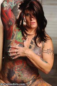 Tattoo anal.