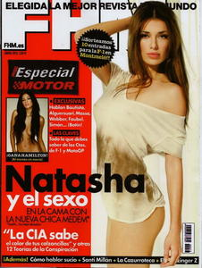 Natasha Yarovenko sexy uncovered FHM photo