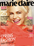 # 4000 !! Michelle Williams | Marie Claire Magazine | February 2011 | 7 pics