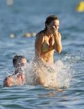 Geri Halliwell in Gold Bikini