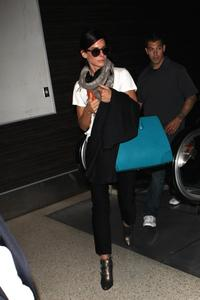 Sandra Bullock arrives at LAX 07-03-2014