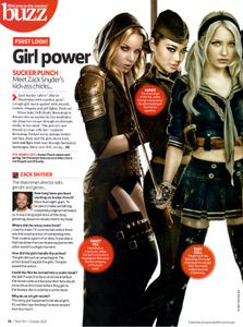 Vanessa Hudgens, Emily Browning, Abbie Cornish, Jamie Chung, Jena Malone & Carla Gugino - 'Sucker Punch' Girls Total Film Oct'10